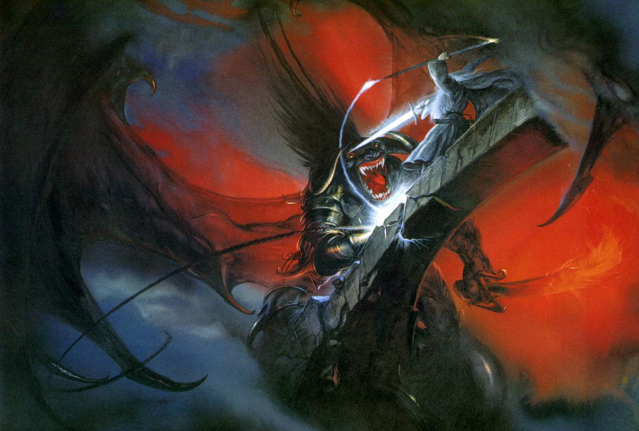 John Howe (grand illustrateur de Tolkien) 1997_12